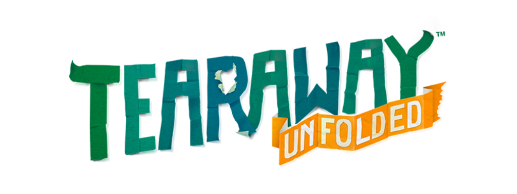 Tearaway Unfolded logo (blog)