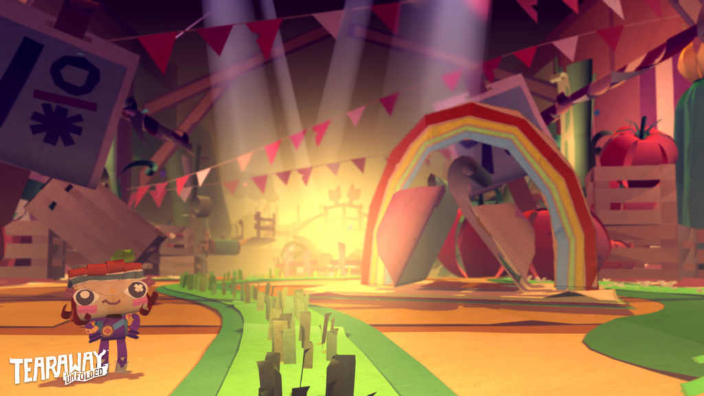 Tearaway Unfolded PS4 - Screenshot 09