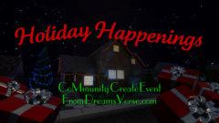 DreamsVerse - Holiday Happenings