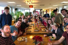 Molecules' Christmas Dinner