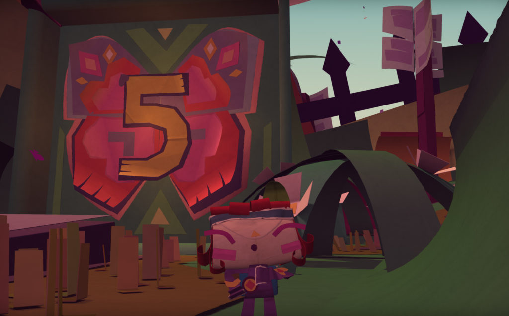 Tearaway Unfolded countdown - 5 days