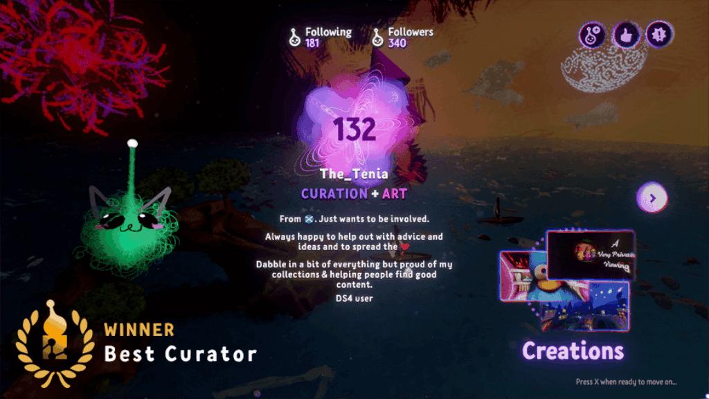 Best Curator