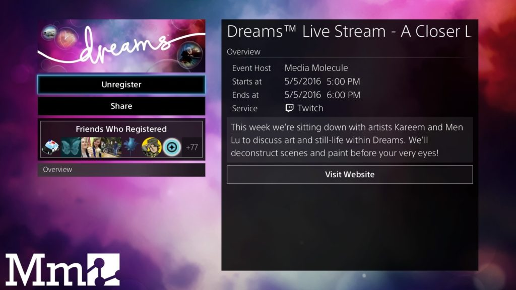 Dreams Live Stream Art And Still Life