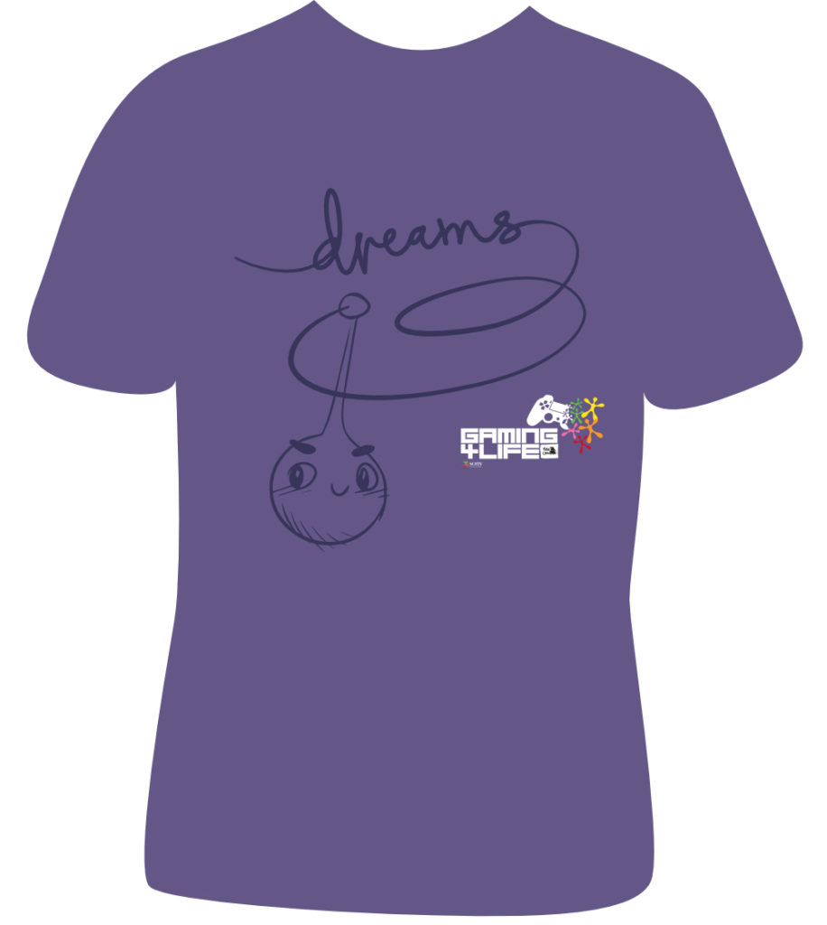 Gaming4Life - Dreams T Shirt Giveaway