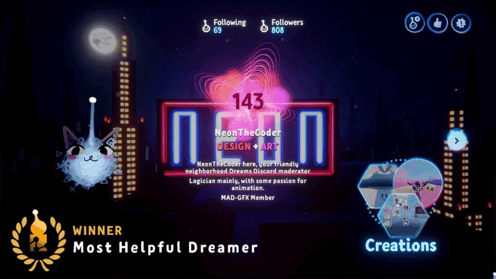 Most Helpful Dreamer