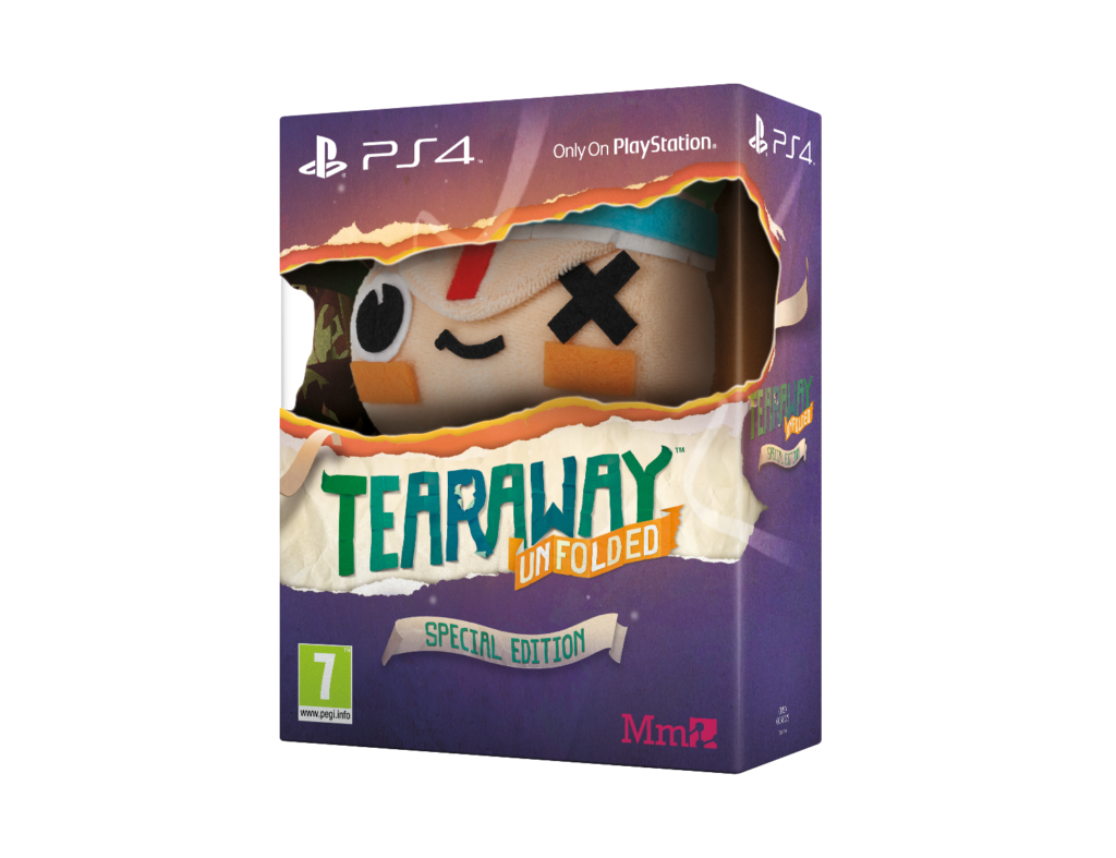 PS4 Tearaway Unfolded Plush Toy 3D ENG 1