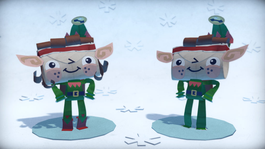 Tearaway-Unfolded-Holiday-DLC-Elf