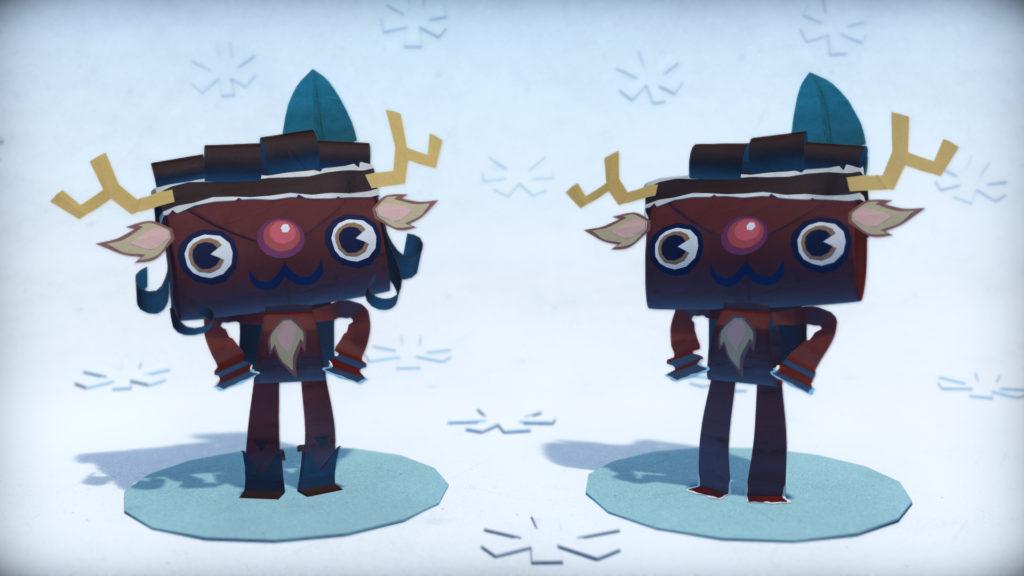 Tearaway-Unfolded-Holiday-DLC-Reindeer