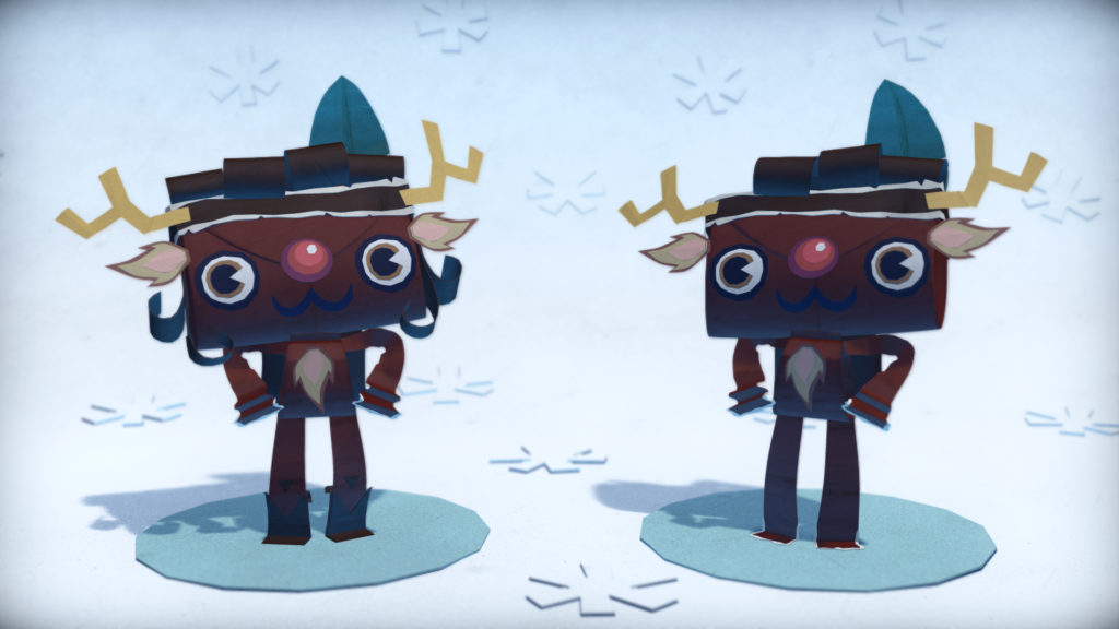 Tearaway-Unfolded-Holiday-DLC-Reindeer