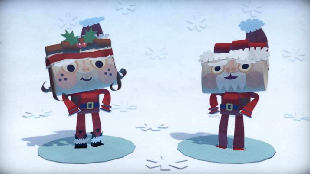 Tearaway-Unfolded-Holiday-DLC-Santa-Claus