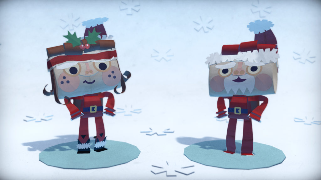 Tearaway-Unfolded-Holiday-DLC-Santa-Claus