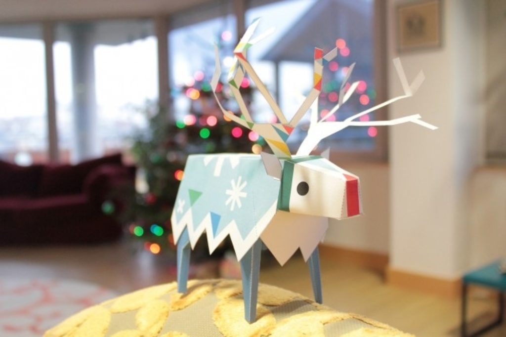 Christmas Reindeer (Elk)