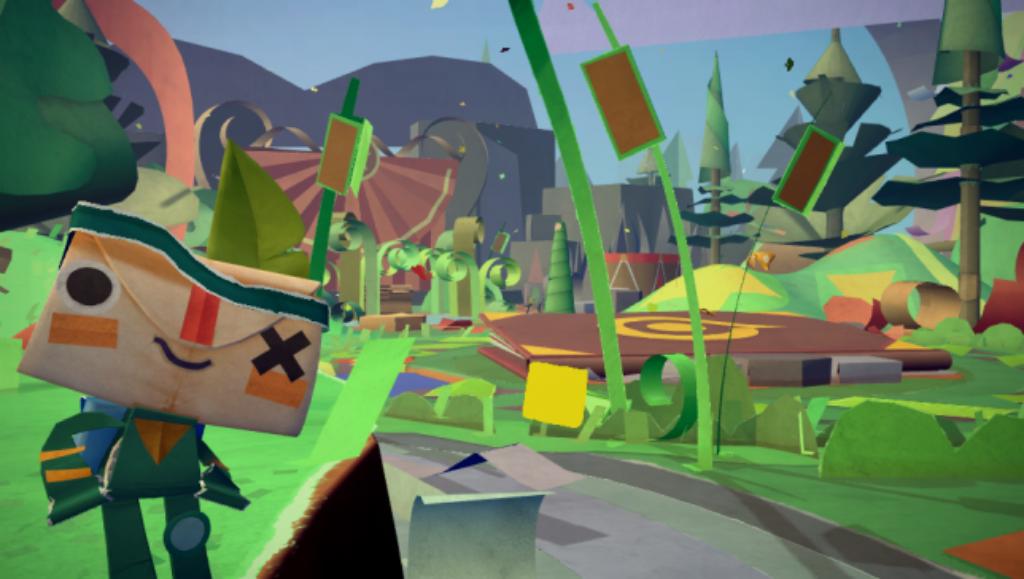 Tearaway's first official screenshot