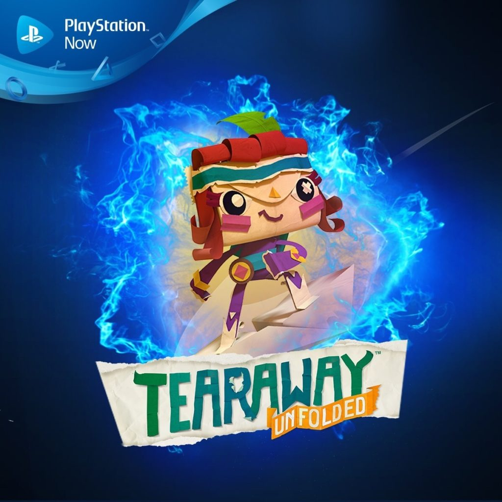 Tearaway Unfolded is now available on PlayStation Now