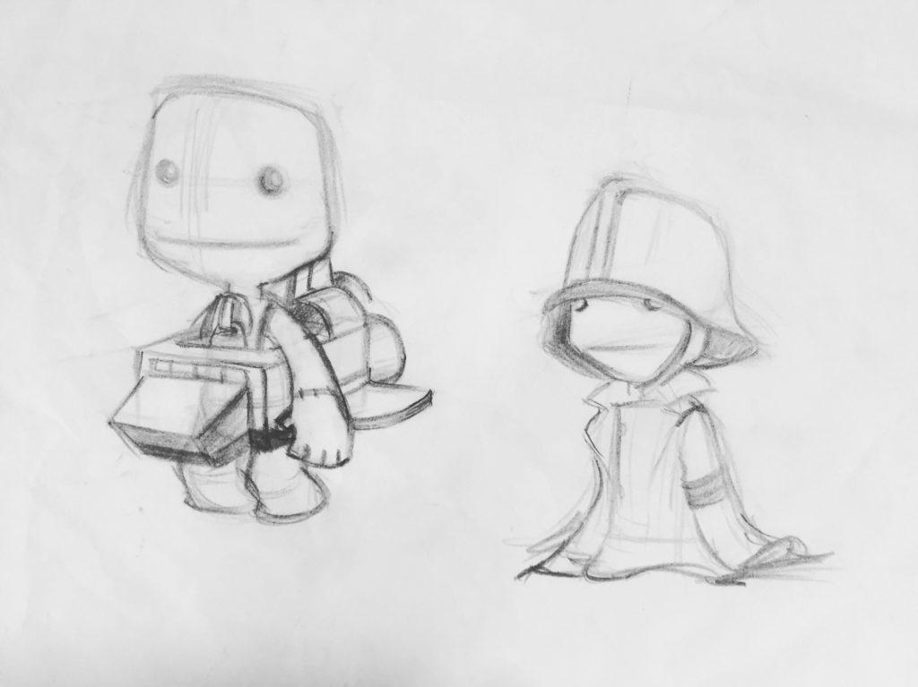 Lbp Concept Art Sackboy Costumes