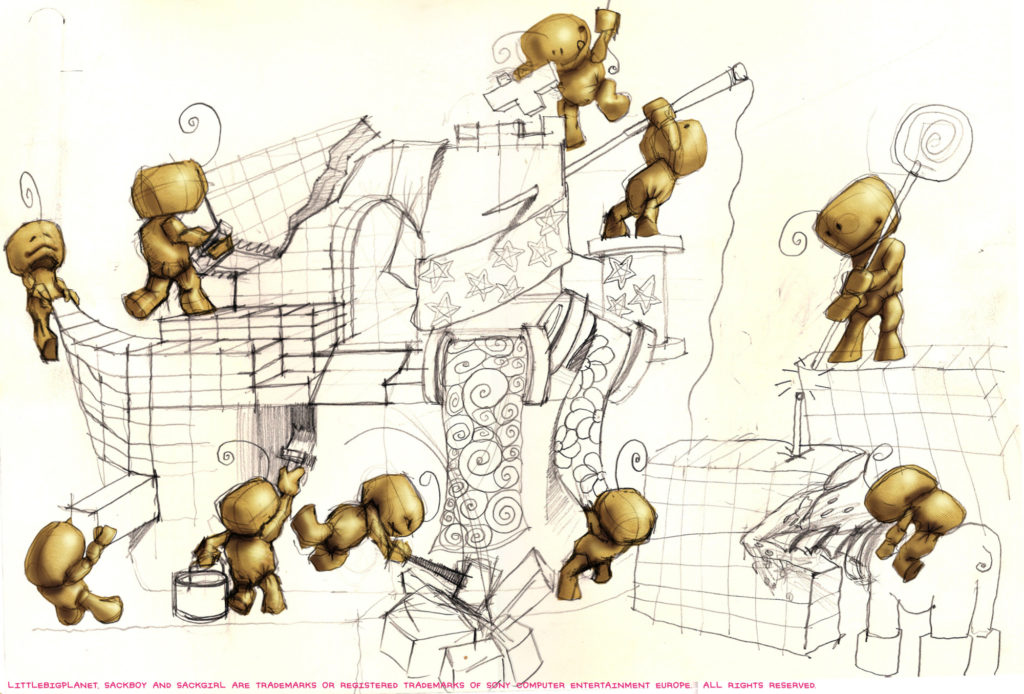 Lbp Concept Artwork Sackboy 5