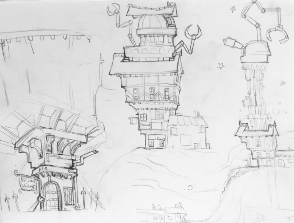 Lbp2 Concept Art Da Vincis Hideout