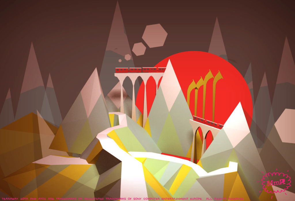 Tearaway Concept Art  - 002