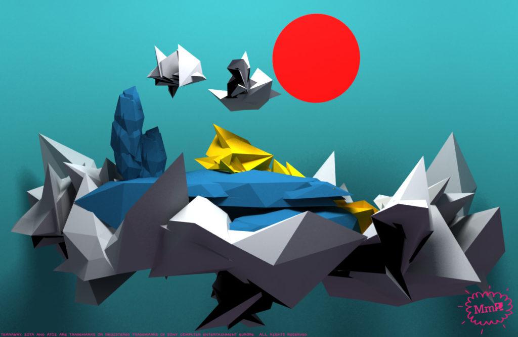 Tearaway Concept Art  - 017