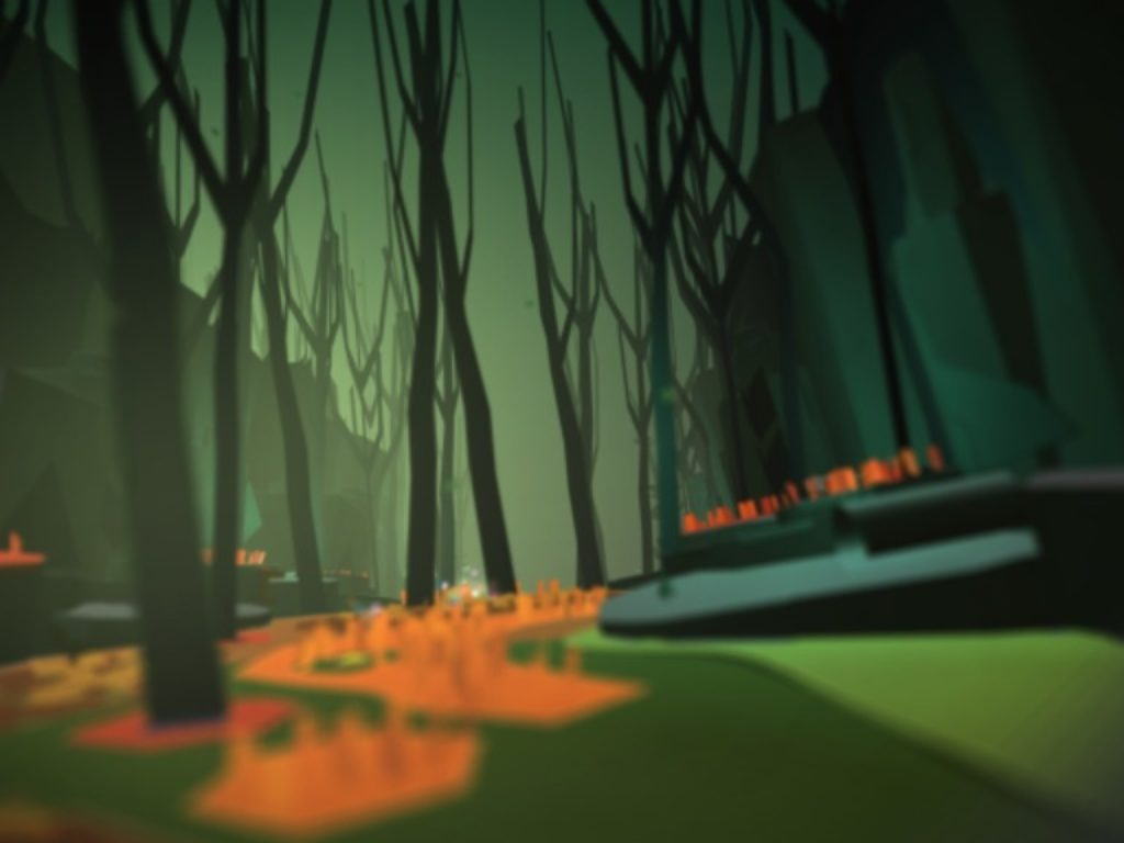 Tearaway Photo - the woods