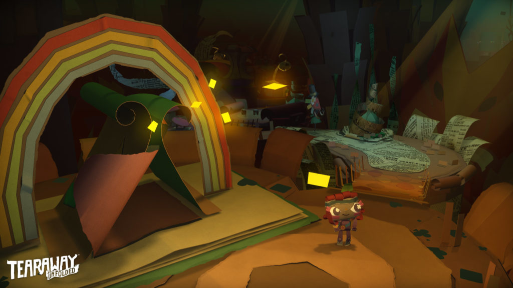 Tearaway Unfolded E3 2015 - Screenshot 01