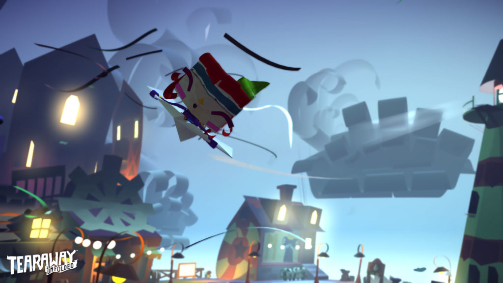 Tearaway Unfolded PS4 - Screenshot 17