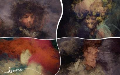 Jon's beautiful painted faces in Dreams